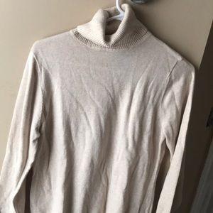 LL bean Heather cowl neck sweater